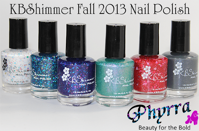 KBShimmer Fall 2013 Nail Polish Collection Review and Swatches
