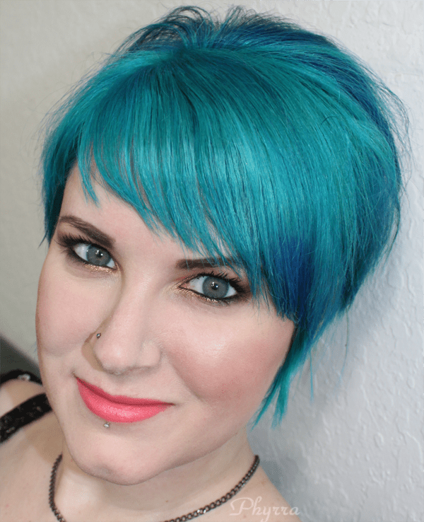 Wearing the tarte aqualillies palette and occ makeup radiate, annika