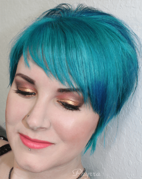 wearing bareMinerals the next big thing palette