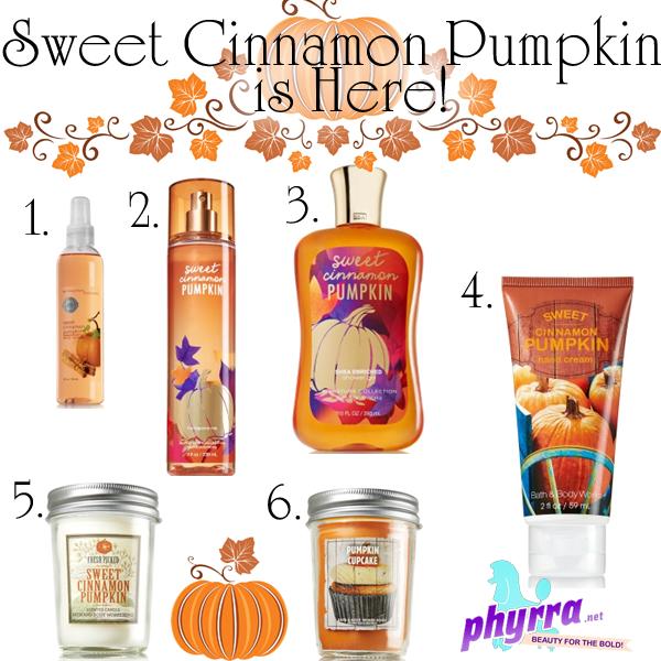 Bath & Body Works Sweet Cinnamon Pumpkin is now Available!