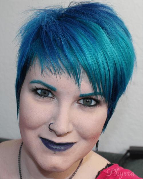 Wearing Ardency Inn Black is Blue Lipstick