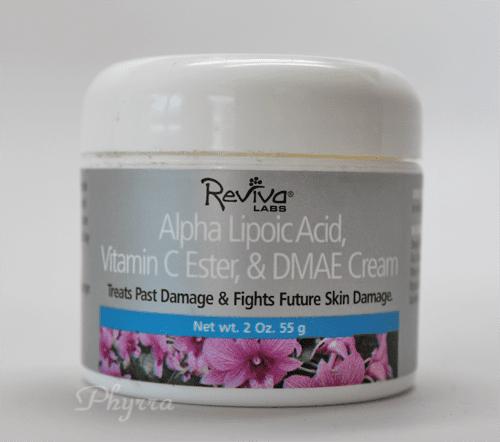 Reviva Labs Alpha Lipoic Acid, Vitamin C Ester & DMAE Cream Review