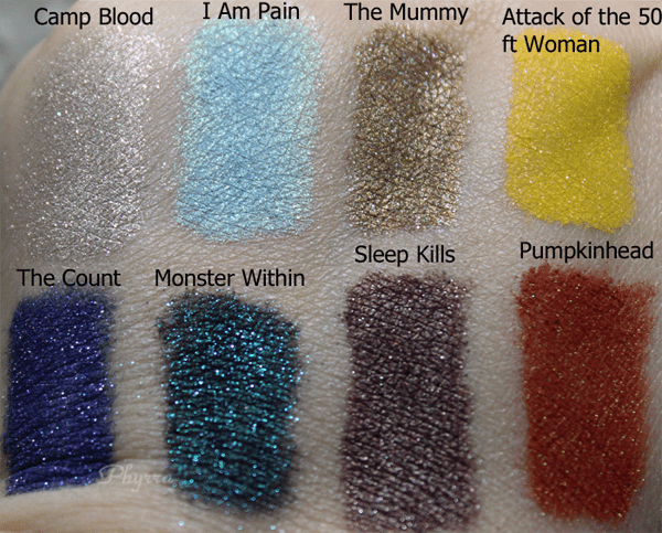 Darling Girl Oh the Horror Swatches Review