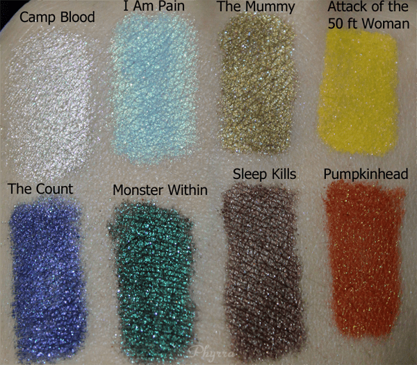 Darling Girl Oh the Horror Review Swatches