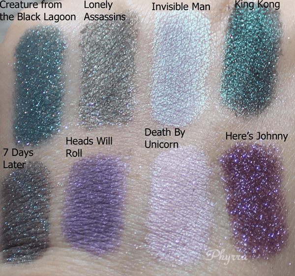 Darling Girl Oh the Horror Review, Swatches, Video