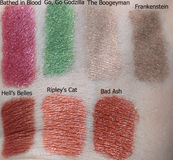 Darling Girl Oh the Horror Review, Video, Swatches