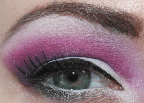 Sugarpill Dollipop, Poison Plum, Elemental Chaos, Soot n' Stars, Diamond eyes, Tako, Makeup, Eyeshadow, Tutorial