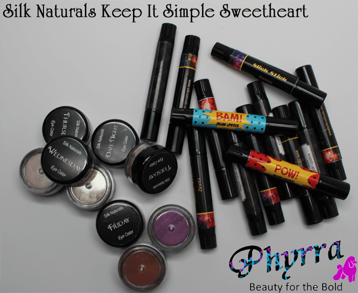 Silk Naturals Keep It Simple Sweetheart Fall Collection Review and Video