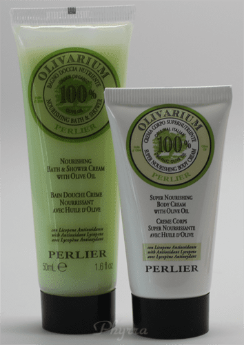 Perlier Olivarium Shower Cream and Body Balm