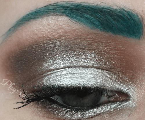Urban Decay Silver, Brown, Grey tutorial