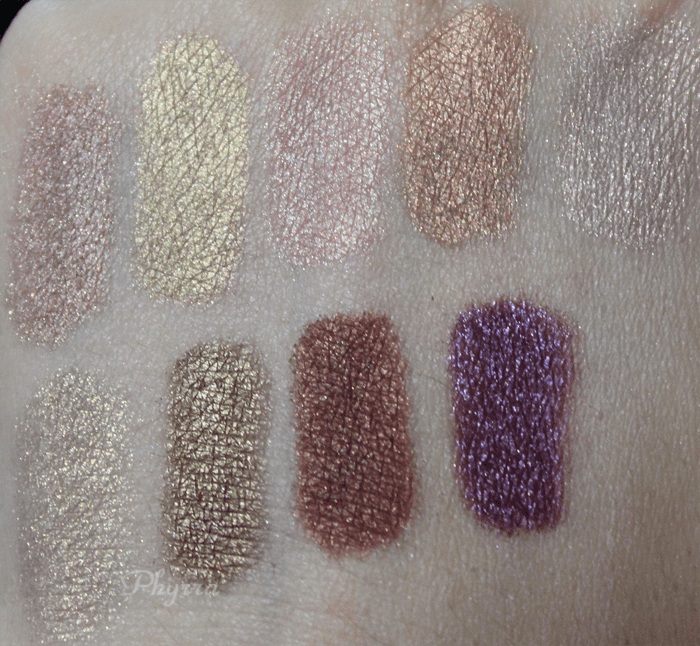 Silk Naturals, Monday, Tuesday, Wednesday, Thursday, Friday, Happy Hour, Date Night, Scene Stealer, Siobhan, Swatches, Review, Video