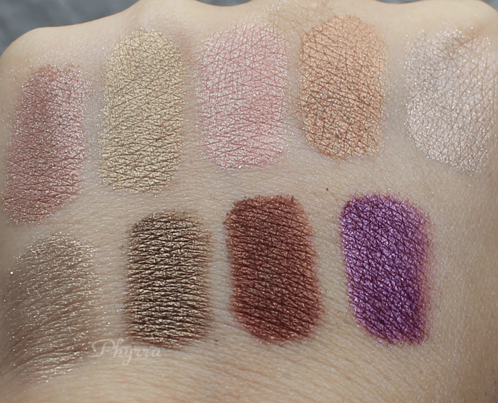 Silk Naturals, Monday, Tuesday, Wednesday, Thursday, Friday, Happy Hour, Date Night, Scene Stealer, Siobhan, Review, Swatches