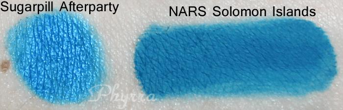 NARS Solomon Islands vs. Sugarpill Afterparty