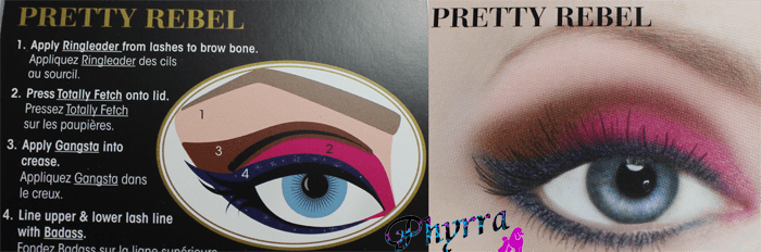 Too Faced Pretty Rebel Look