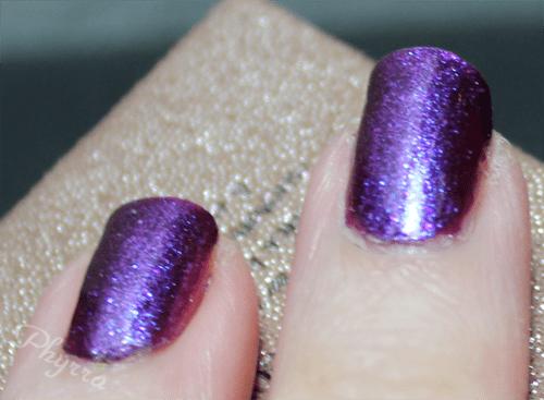 Femme Fatale Cosmetics Twilight Meteorite Nail Polish Swatch