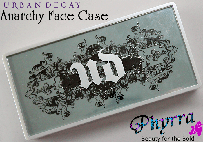 Urban Decay Face Case Anarchy review, swatches, video