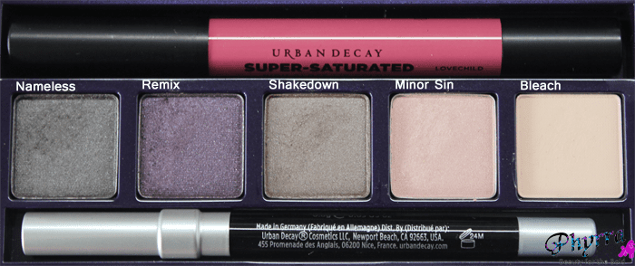 Urban Decay Face Case in Shattered eyeshadows