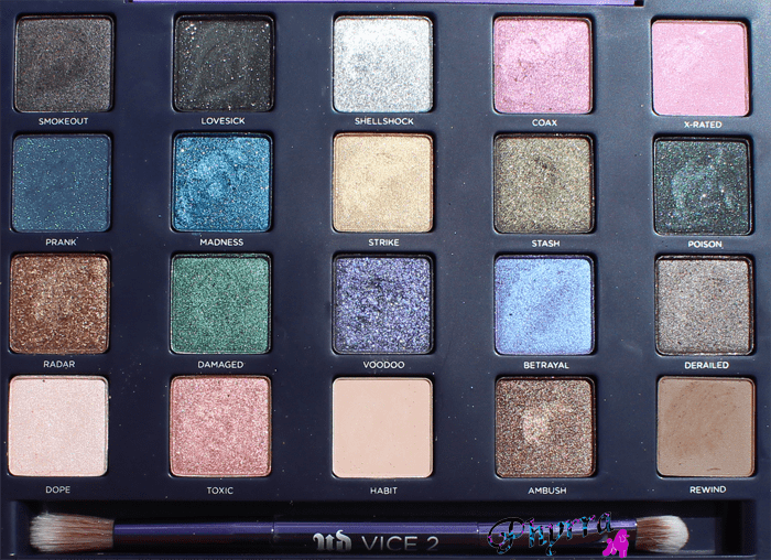 Urban Decay Vice 2 Palette Review, Swatches, Video