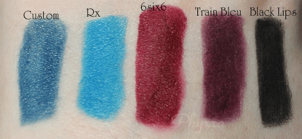 Melt Cosmetics 6six6 Swatches, Review