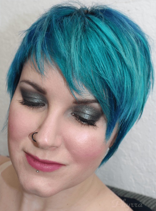 Wearing NARS Bad Behavior and Coeur Battant with Never Say Never