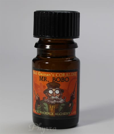 Black Phoenix Alchemy Lab Mr. Bobo Neil Gaiman Coraline Collection