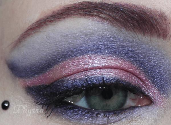 Monster High Catrine DeMew Pink Purple eyeshadow