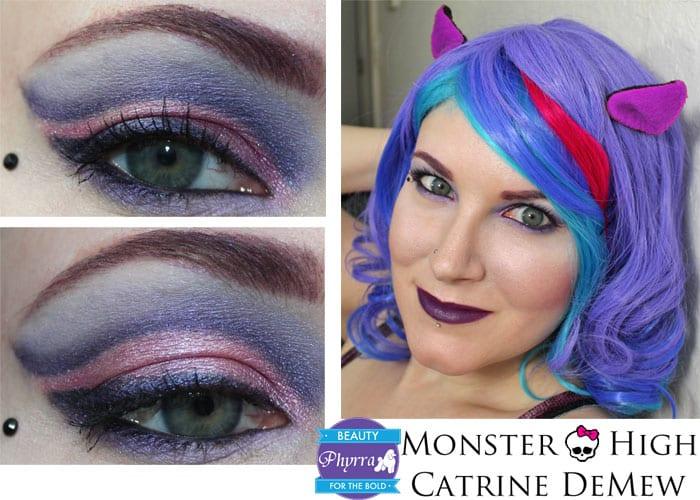 Monster High Catrine DeMew Makeup Tutorial