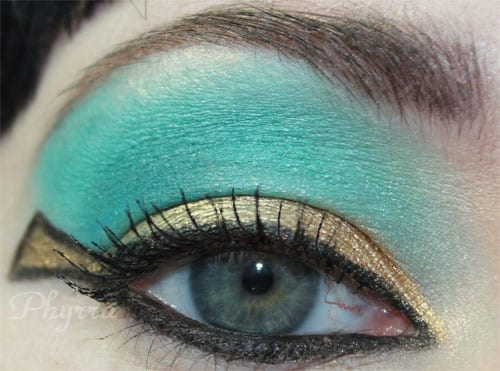 Cleopatra Eyeshadow Makeup Tutorial