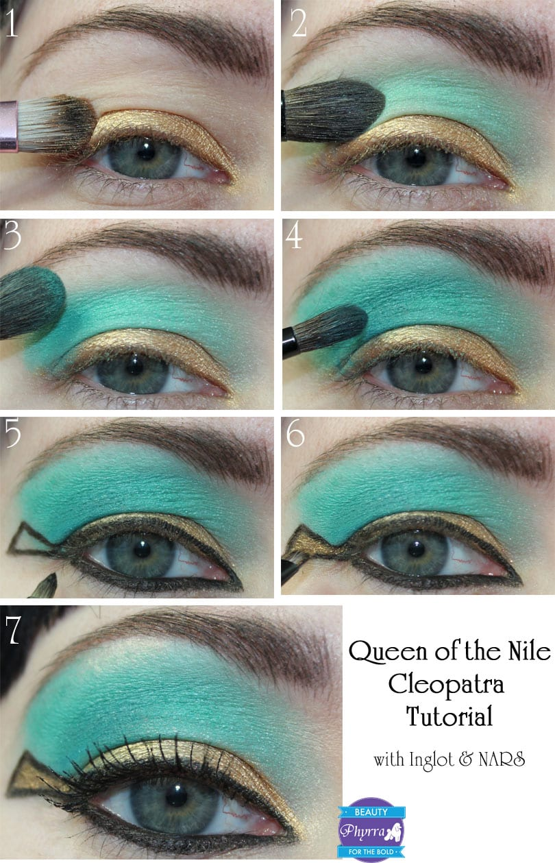 Queen of the Nile Cleopatra Makeup Tutorial
