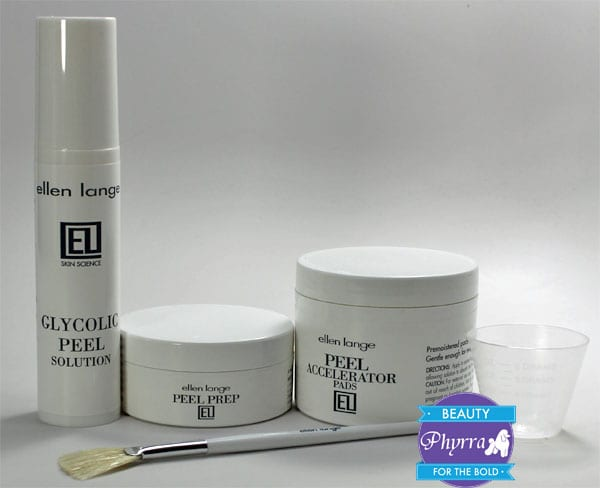 Ellen Lange Retexturizing Skin Peel Kit
