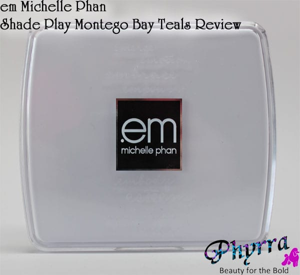 em Michelle Phan Shade Play Montego Bay Teals Palette Review