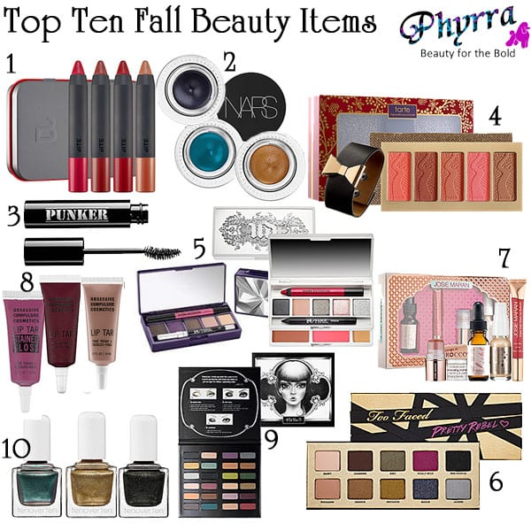 Top 10 Cruelty Free Fall Beauty Items