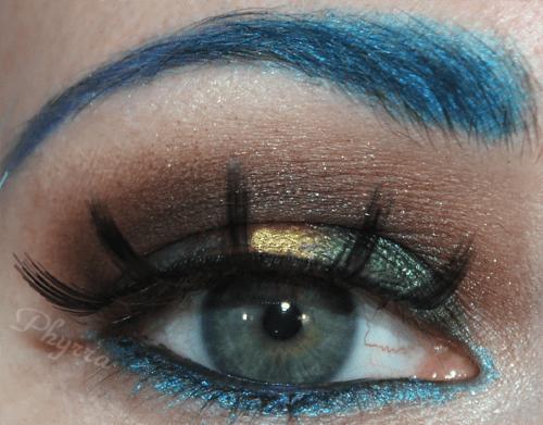 Wearing Sugarpill, Starcrushed, tarina tarantino eyeshadows
