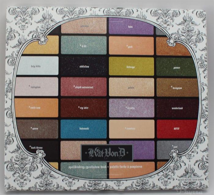 Kat Von D Spellbinding EyeShadow Book Review