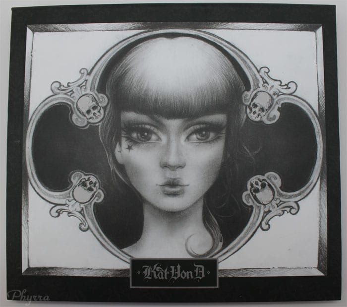 Kat Von D Spellbinding Eye Shadow Book Review