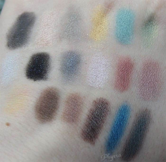 Kat Von D Smile Now, Cry Later, Queen, Bukowski Swatches, Review