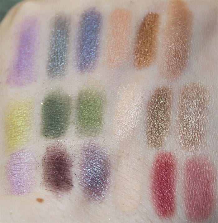 Kat Von D Arcadia, Wonderland, Countess, WTF, Swatches, Review
