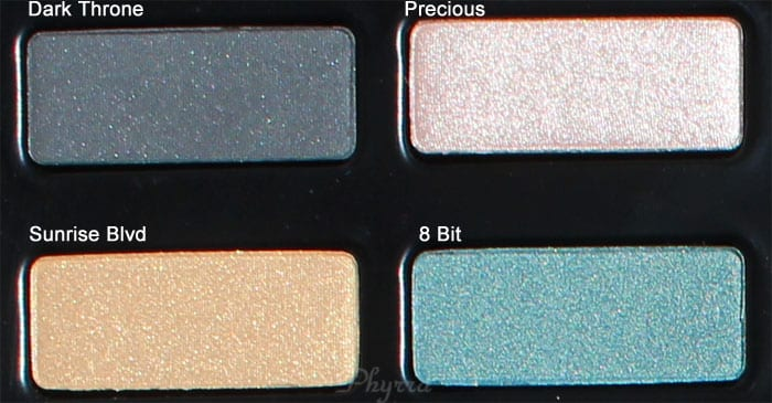 Kat Von D Dark Throne, Previous, Sunrise, 8 Bit, Swatches, Review