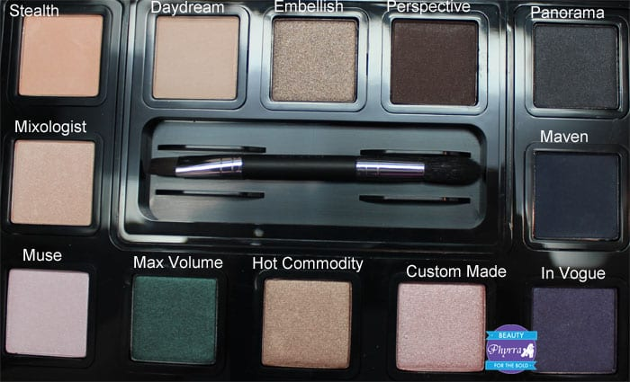 bareMinerals Mix Master READY 12 Eye Shadow Palette Review, Video, Swatches