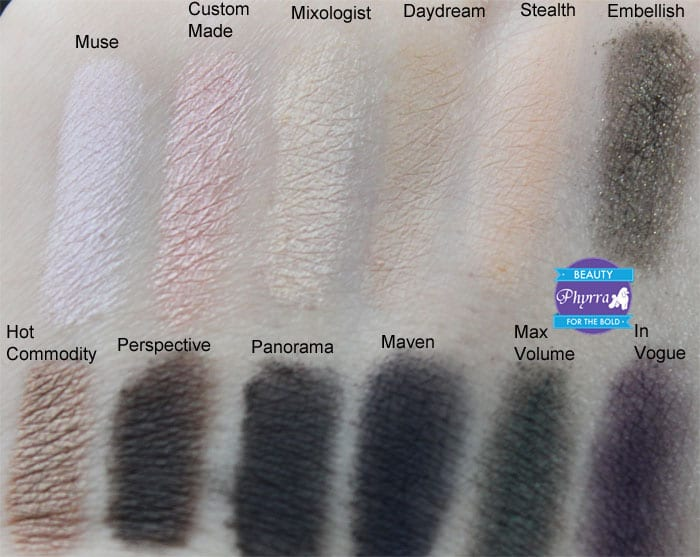 bareMinerals Mix Master READY 12 Eye Shadow Palette Swatches, Review, Video