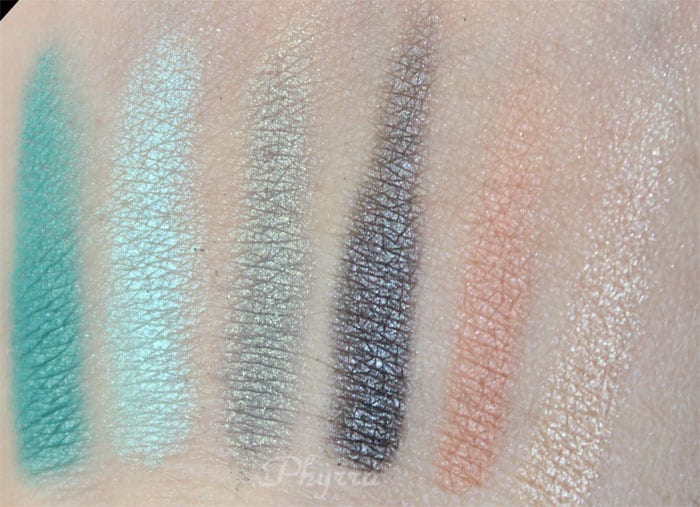 em Michelle Phan Shade Play Montego Bay Teals Palette Review, Video, Swatches