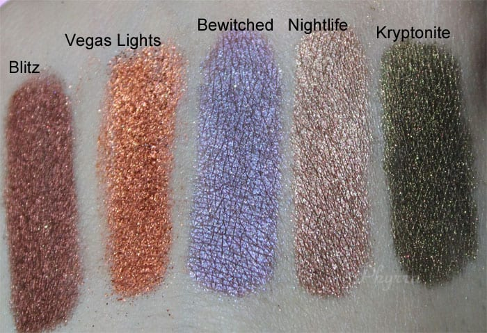 Makeup Geek Pigments Review