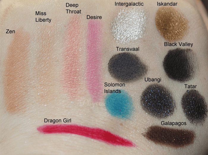NARS Eye Paints & the Adult Content Palette