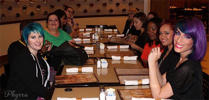 Blogger Dinner
