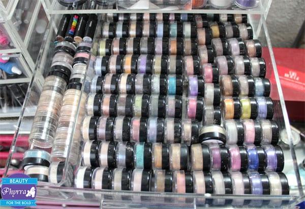 Phyrra's Silk Naturals eyeshadows