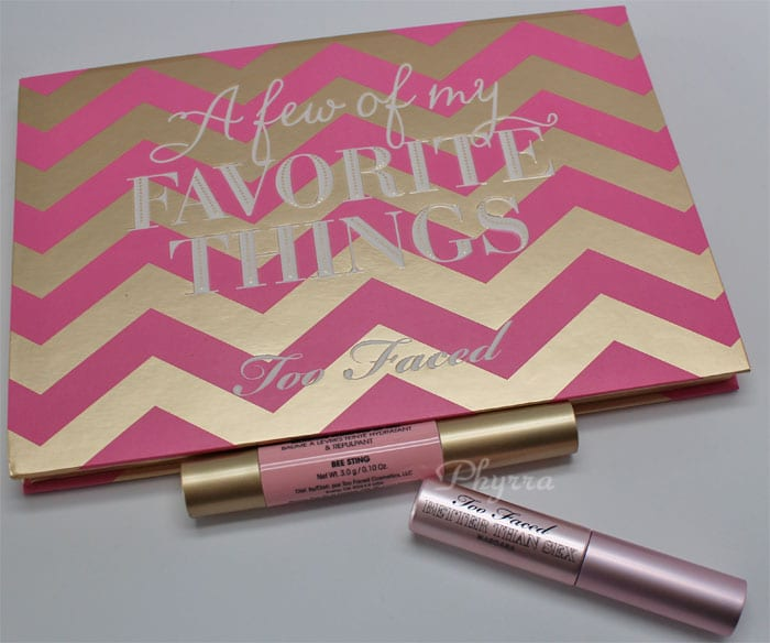 Too Faced A Few of My Favorite Things Review, Video, Swatches