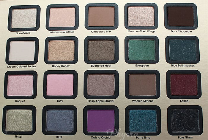 Too Faced A Few of My Favorite Things Palette, Review