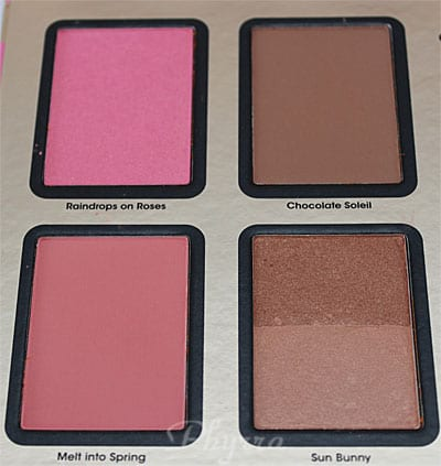 Too Faced A Few of My Favorite Things Palette, Blushes, Bronzer, Review