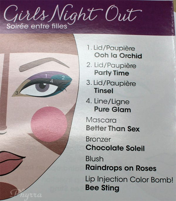 Too Faced Girls Night Out Look