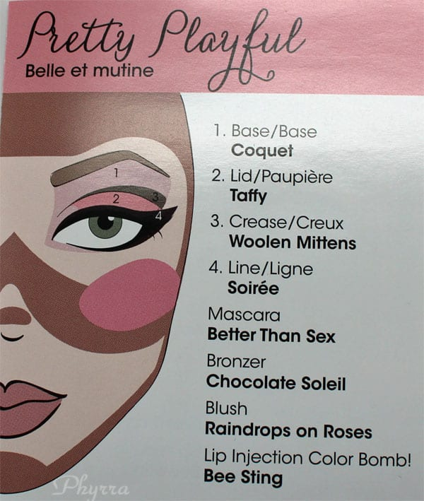 Too Faced Pretty Playful Look
